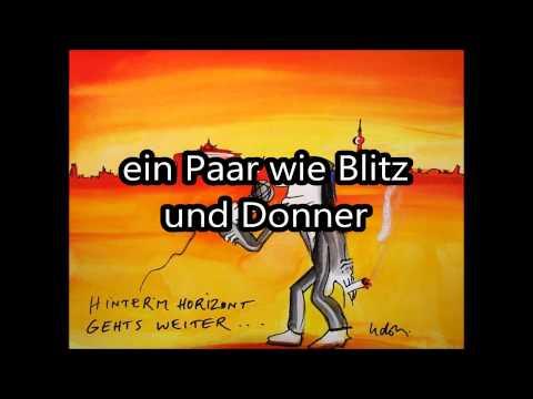 Udo lindenberg hinterm horizont mp3 download