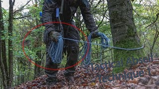 Tactical Abseiling - Safe and Easy - Technique 1