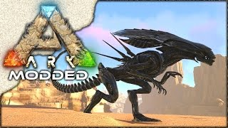 MODDED ARK: Scorched Earth ~ Ep 25 ~ XENO QUEEN TAMING!!
