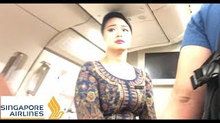 Singapore Airlines Flight Take Off Aborted