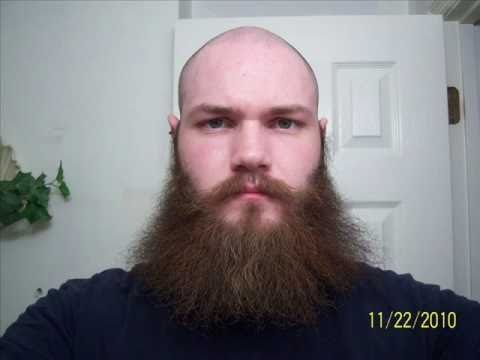 Year of the Beard 2010 - 1 Year Time Lapse