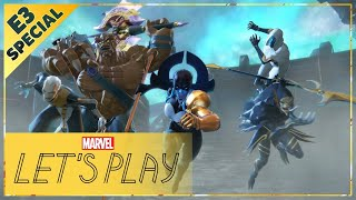 MARVEL ULTIMATE ALLIANCE 3: The Black Order Gameplay! | E3 2019