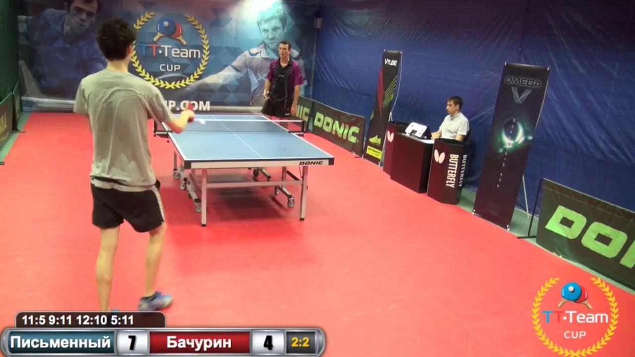 Письменный - Бачурин . 3 августа 2015.TT Cup