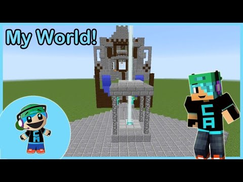 Let's Build Chad's World - Ep. 3 - Town Center and Starting the Hotel