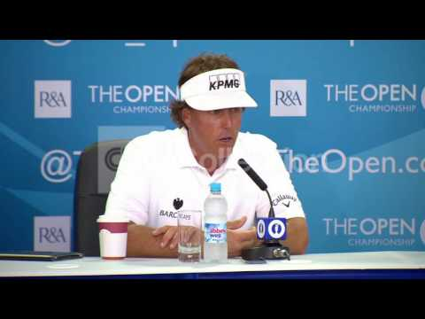 GLF: BRITISH OPEN PREVIEW PHIL MICKELSON