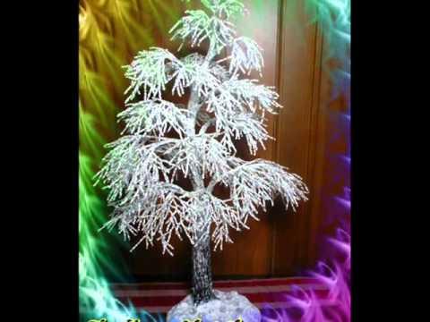 Посмотреть ролик - Бисероплетение Зимняя красавица.wmv видео бисероплетение для начинающих деревья татьяна.