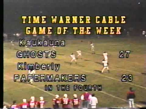 Kimberly vs. Kaukauna 1999 - 4th Quarter