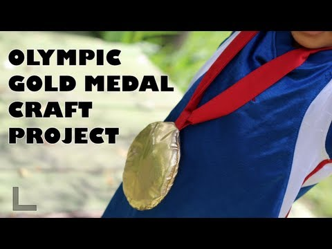 How to Make an Olympic Gold Medal- Invade London