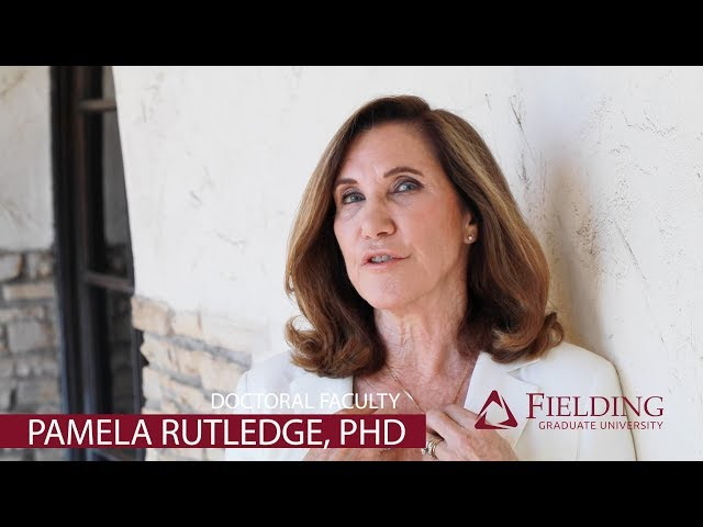 Doctoral Faculty, Media Psychology | Pamela Rutledge, PhD | Fielding Graduate University