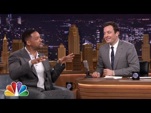 Will Smith Feels the Weight of The Tonight Show klip izle