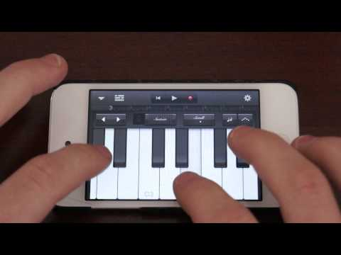 Adele S Someone Like You On Garageband For Ipod Touch