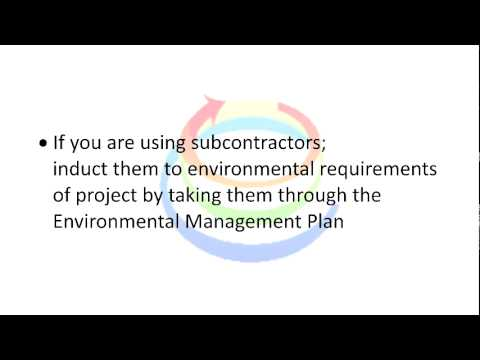Implementing Environmental Management Plan in Construction Works