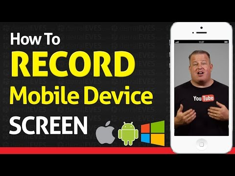 How To Record your iPhone iPod & Android Screen