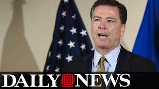 FBI director James Comey says 'no charges are appropriate' for Hillary Clinton email scandal