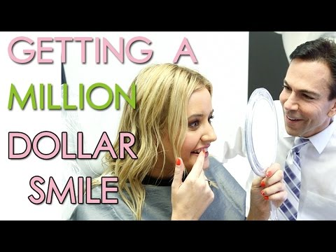 SMILE MAKEOVER! Teeth Shaving + Professional Teeth Whitening!