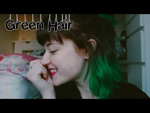 Dying My Hair: Directions Apple Green