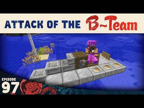 Minecraft :: Wave Race Testing :: Attack of the B-Team E97