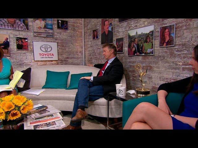 Sen. Rand Paul in the Toyota Green Room