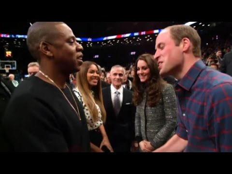 Prince William and Kate Middleton Meet JayZ and Beyonce