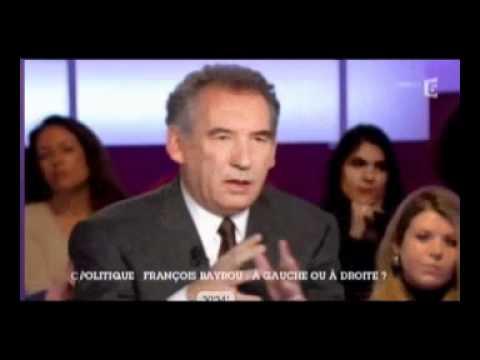 François Bayrou est interviewé par Géraldine Muhlmann le 13 mars 2011 - France 5 - C POLITIQUE