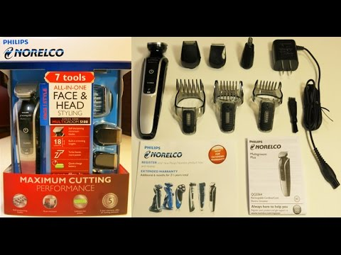 philips norelco beard trimmer multigroom 5100 model. Black Bedroom Furniture Sets. Home Design Ideas