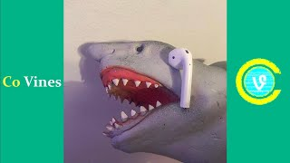 Try Not To Laugh Watching Shark Puppet Compilation 2019 (W/Titles) Funny Shark Puppet Videos
