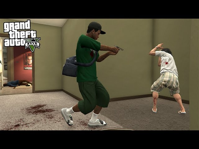 ROBBING HOUSES IN GTA 5!!! (GTA 5 REAL LIFE PC MOD)