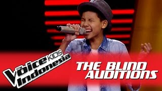 """Auw Genta """"Billionaire"""" I The Blind Auditions I The Voice Kids Indonesia GlobalTV 2016"""