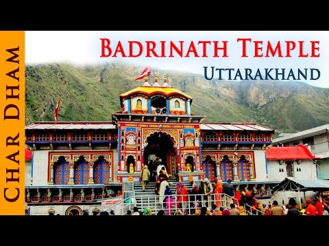 Indian Temple - Badrinath Temple Uttrakhand - Temple Tours