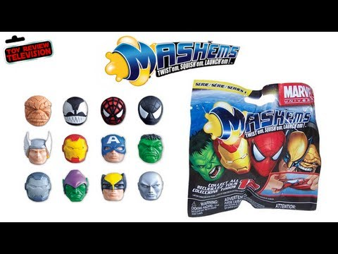 Mash'Ems Marvel Universe Series 1 Blind Bag Review Opening