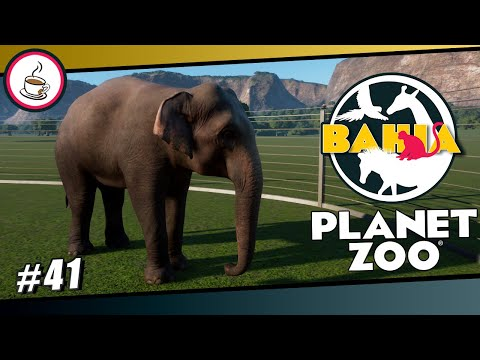 DER ERSTE ELEFANT #41 «» Parque Zoológico de Bahia - PLANET ZOO Let's Play | Deutsch German