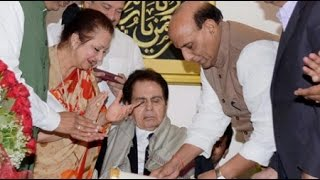 Dilip Kumar Receives Padma Vibhushan From Union Home Minister Rajnath Singh