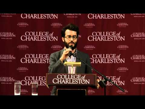 Eating Animals -- Author Jonathan Safran Foer Speaks at College of Charleston