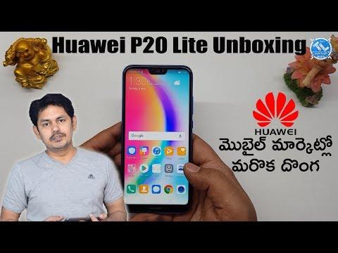 Huawei P20 Lite Unboxing | in Telugu | Tech-Logic