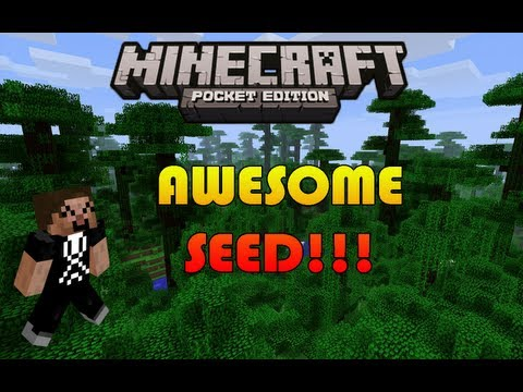 Awesome Seed!!! - Minecraft Pocket Edition