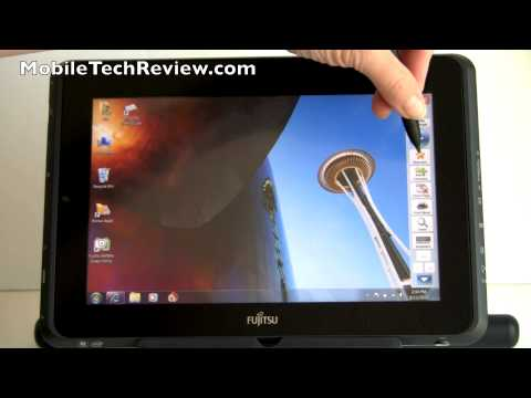 Fujitsu Stylistic Q550 Windows 7 Tablet Review