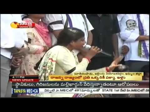 YS. Sharmila spits fire on Naidu for supporting anti-people Cong Govt
