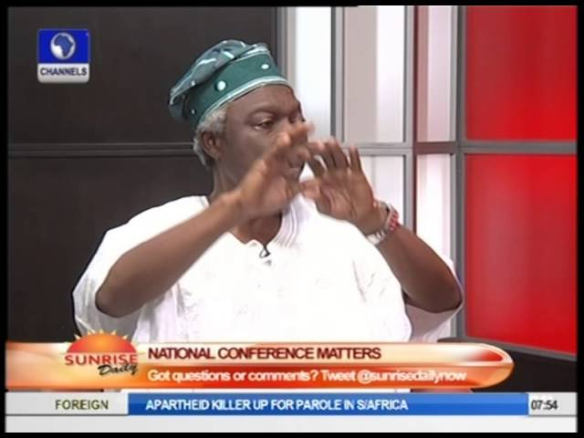 "Confab Commotion Over Oil Revenue Is ""Understandable"" -- Wale Oshun Pt.2"