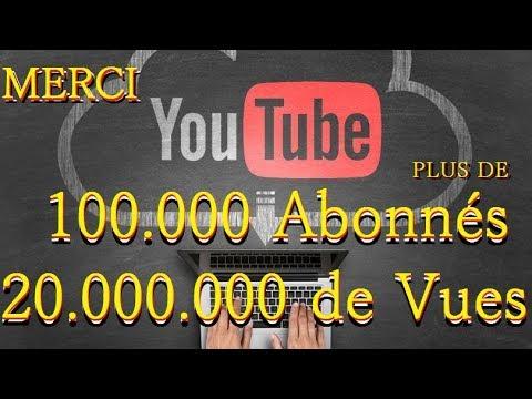 100.000 Abonnés 20.000.000 de vues. MERCI! #LeCombatContinue (KILLUMINATY SMG)