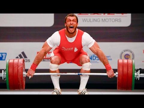 Dmitry Klokov - Olympic Weightlifting Motivation
