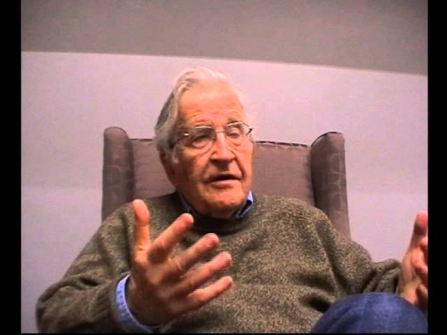 Intervista Znetitaly - Noam Chomsky. Roma 24 gennaio 2014 (seconda parte)