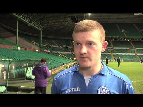 Brian Easton post match v Celtic 4/3/15
