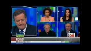 Carol Roth &amp; Piers Morgan Auto Bailout Throwdown Round 2 CNN