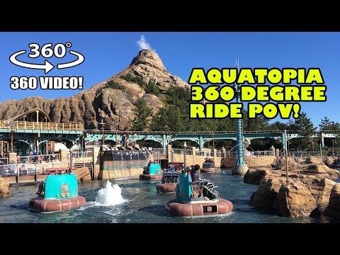 Aquatopia 360 Degree POV Tokyo DisneySEA