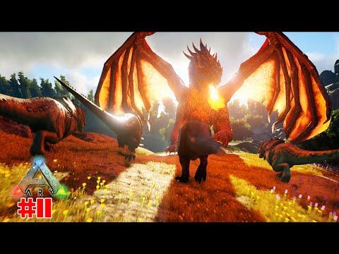 Ark Survival Evolved #11 | Servidor dos SDC - Gruta do Diabo