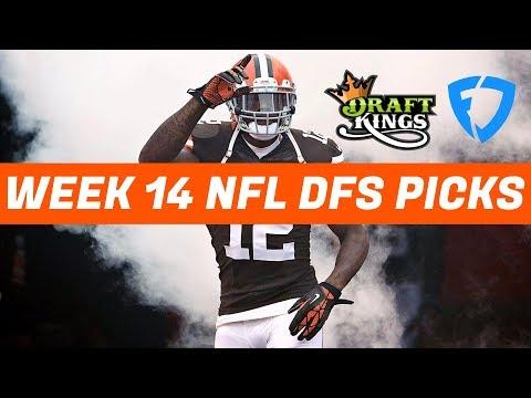 Week 14 NFL DraftKings + FanDuel Picks & Preview