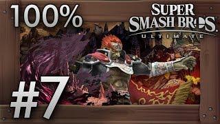 Super Smash Bros. Ultimate: World of Light Part 7 - The Dark Realm & Sacred Land - 100% Walkthrough