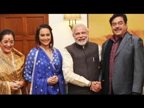 Sonakshi Sinha Meets PM Narendra Modi