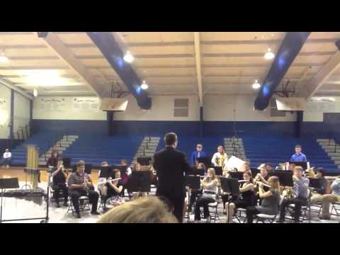Ukrainian bell carol by the Cotter High School band