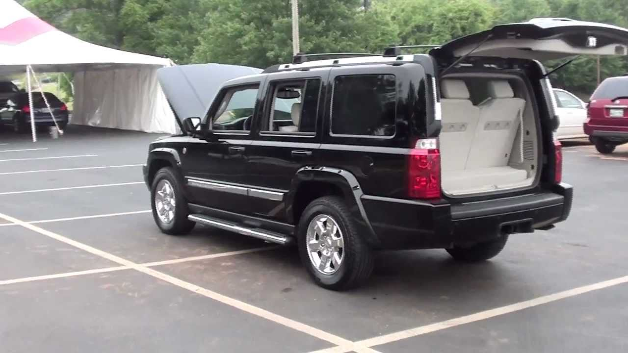 Jeep Commander For Sale >> FOR SALE 2006 JEEP COMMANDER!! TRAIL RATED!! 1 OWNER, REAR ENT SYSTEM!! STK# 11713A - YouTube